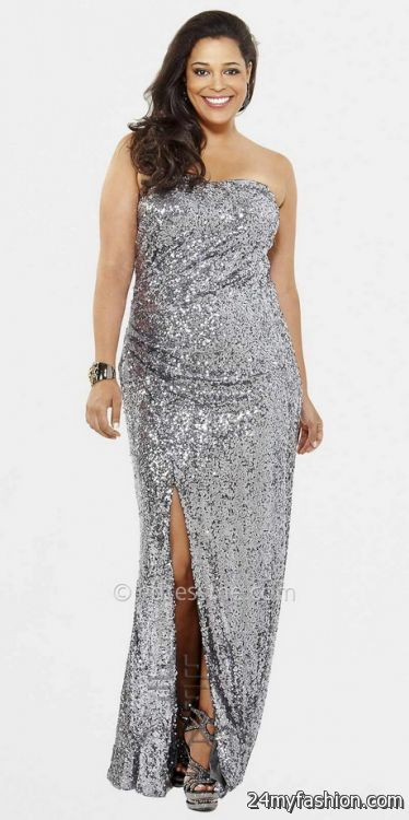 Plus size sequin dresses 2017-2018 | B2B Fashion