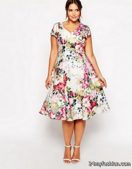 Plus size spring dresses 2016