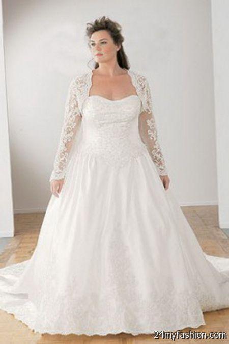 Wedding Dresses Plus Size 2018 28