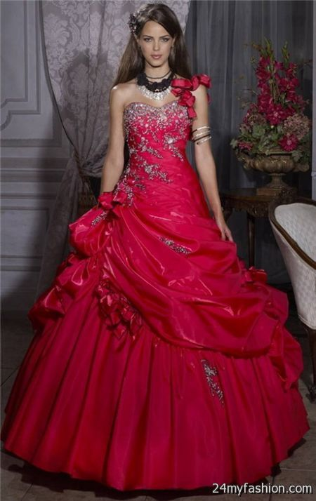 Pretty red dresses 2017-2018 » B2B Fashion