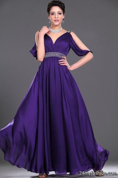 Purple evening dresses 2017-2018 » B2B Fashion