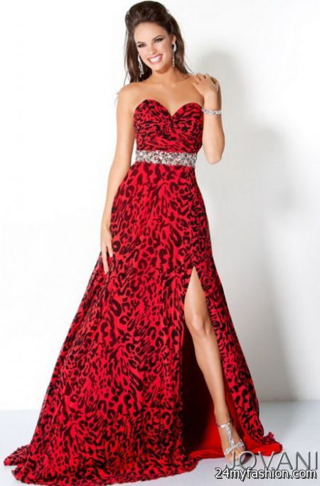 Red and black prom dresses 2017-2018 | B2B Fashion