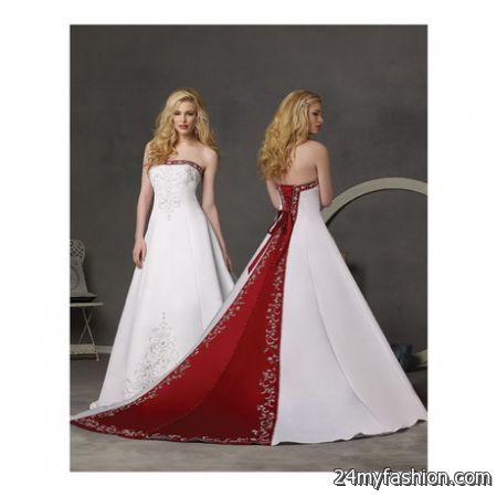 You can share the Most Trusted Red and white wedding dress on Facebook 139ef993d3