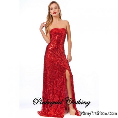 5733ea6e Find the best dresses from inspirational labels, hand-picked by top  boutiques. You can share the Most Trusted Red glitter dress on Facebook ...