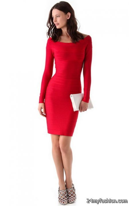 Red-long-sleeve-dress-2017-2018-1.jpg