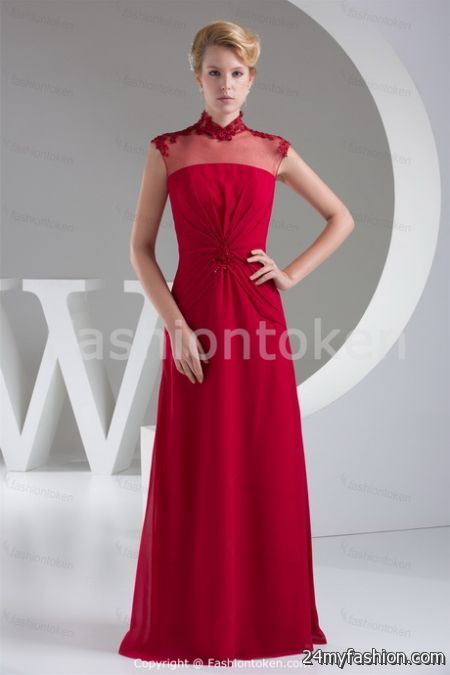 Red Mother Of The Bride Dresses 2017 2018 B2b Fashion