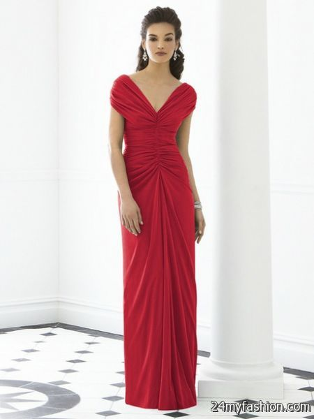 Red mother of the bride dresses 2017-2018 » B2B Fashion