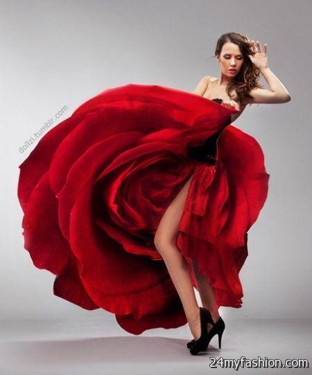 Red rose dress 2017-2018 | B2B Fashion