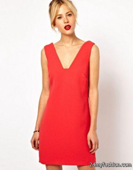 Red shift dress 2017-2018 » B2B Fashion