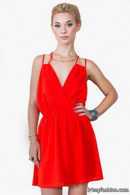 Red tank dress 2017-2018 » B2B Fashion