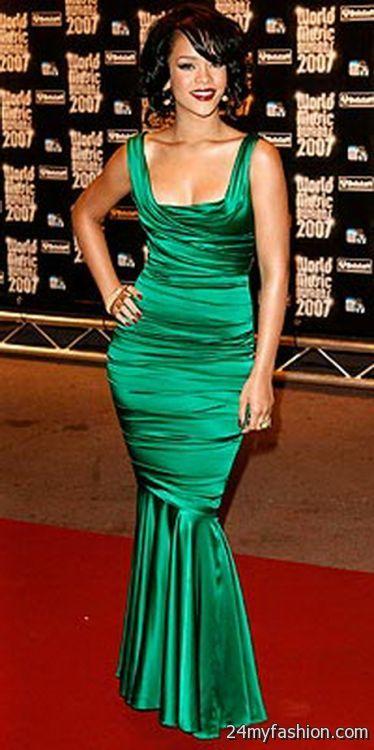 Rihanna Red Carpet Dresses 2017 2018 B2b Fashion