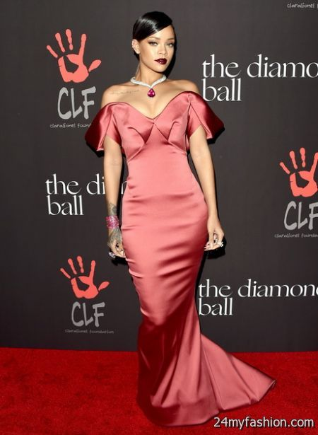 Rihanna Red Carpet Dresses 2017 2018 B2b Fashion