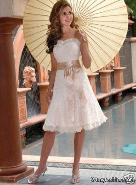 Short Summer Wedding Dresses 2018