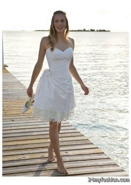 Short beach wedding dresses 2017-2018 | B2B Fashion