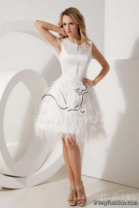 Short bridal dresses 2017 2018 b2b fashion for Where to buy short wedding dresses