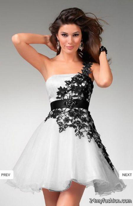 Short lace prom dresses 2017-2018 » B2B Fashion