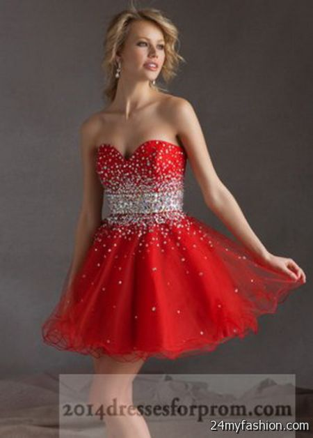 Short red prom dresses 2017-2018 » B2B Fashion