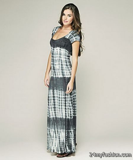 Short sleeve maxi dresses 2017-2018 » B2B Fashion