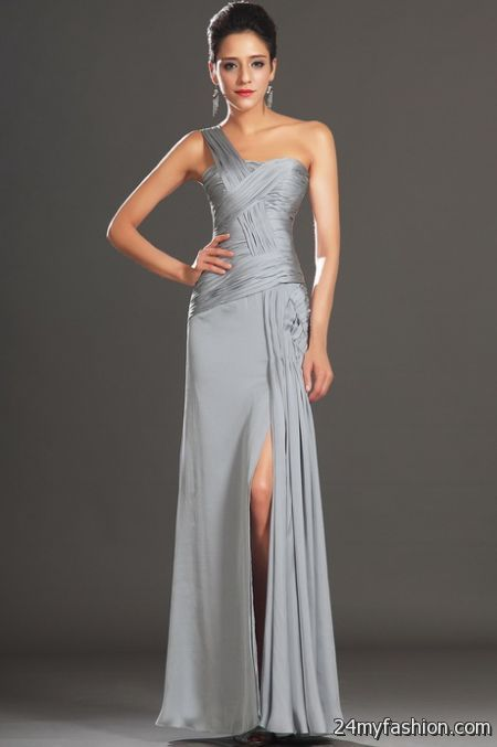 Silver evening gowns 2017-2018 » B2B Fashion