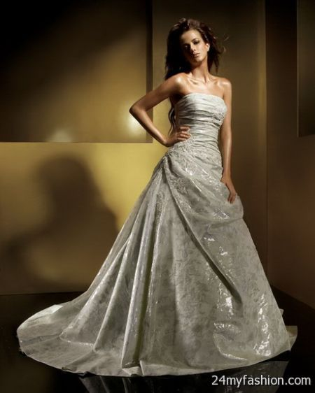 Silver Wedding Gowns 2017-2018
