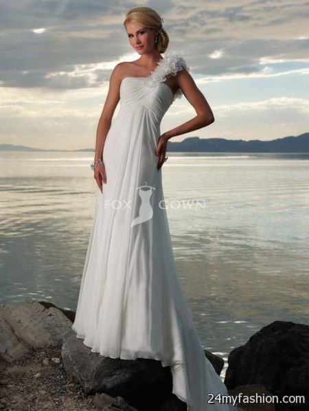 Simple beach wedding dresses 2017 2018 B2B Fashion