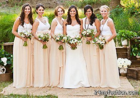 Spring bridesmaid dresses 2017-2018 » B2B Fashion