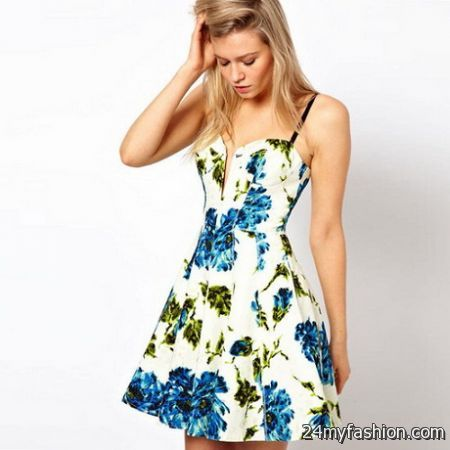 Spring dresses for juniors 2017-2018 » B2B Fashion