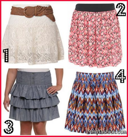 Spring skirts 2017-2018 | B2B Fashion