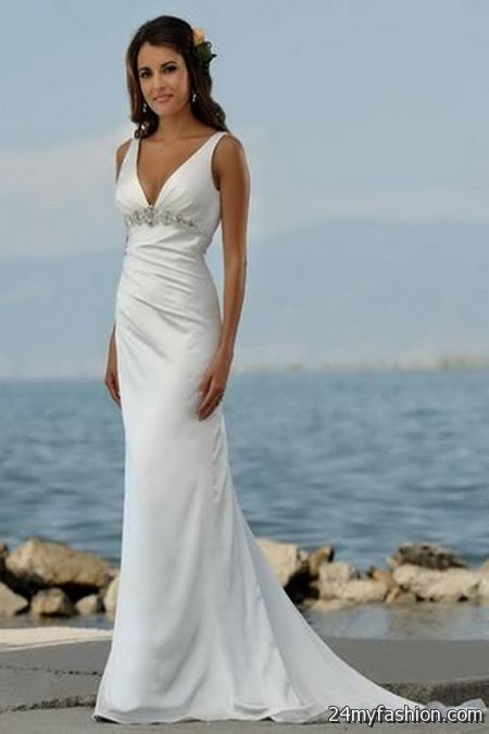 Summer beach wedding dresses 2017 2018 b2b fashion for Best dresses for summer wedding