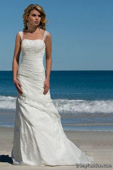 Beach Wedding Dresses 2017 : Summer beach wedding dresses b fashion