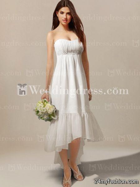 Summer wedding dresses 2017 2018 b2b fashion for Summer casual wedding dresses