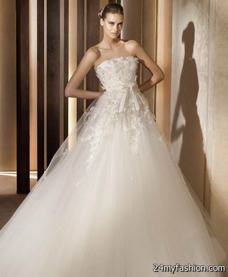 The Most Beautiful Wedding Dresses 2017-2018