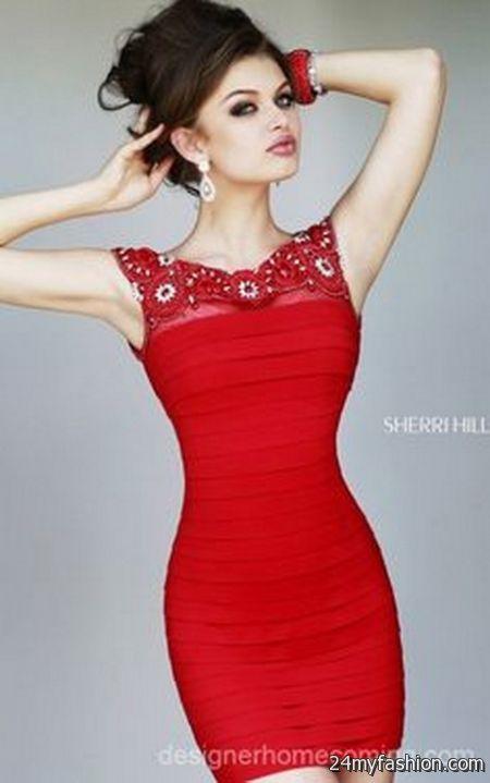 Tight red dresses 2017-2018 » B2B Fashion
