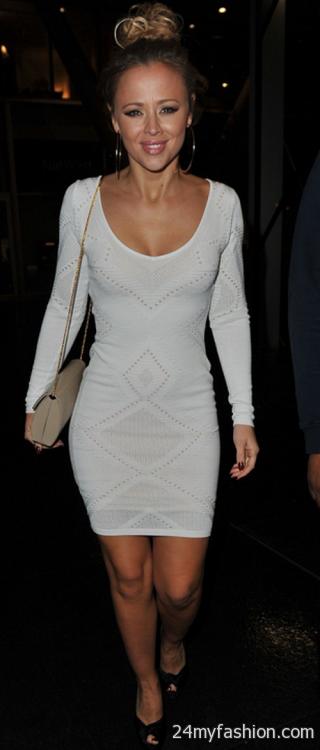 Tight white dress 2017-2018 » B2B Fashion