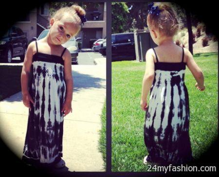 Toddler maxi dress 2017-2018 » B2B Fashion