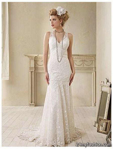 2018 Vintage Wedding Dress