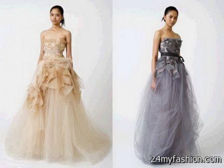 Vera wang evening gowns 2017-2018 | B2B Fashion