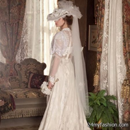 Victorian wedding dresses 2017 2018 b2b fashion for Period style wedding dresses