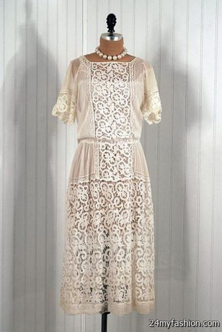 Vintage lace dresses 2017-2018 | B2B Fashion