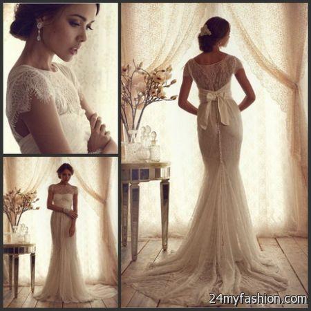 Vintage Lace Wedding Dresses 2018