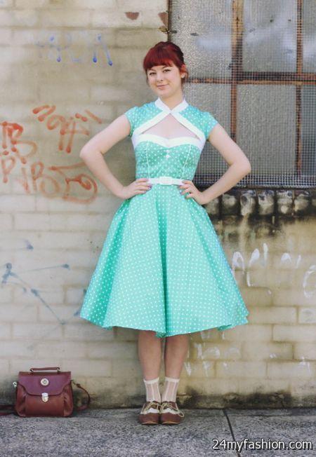 Vintage reproduction dresses 2017-2018 » B2B Fashion