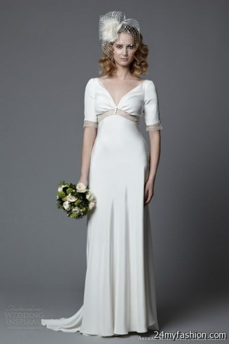 Vintage style bridesmaid dresses 2017 2018 b2b fashion for Vintage second wedding dresses