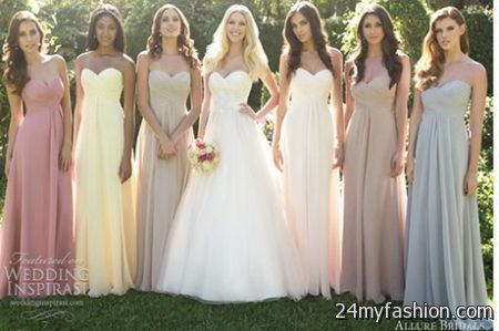 wedding party dress 2018
