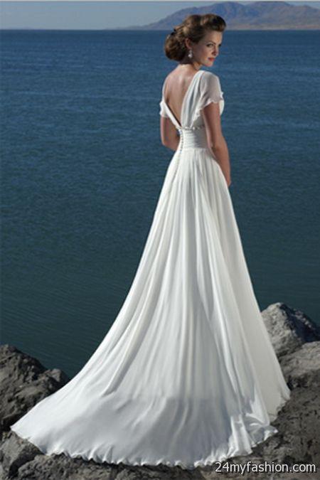 Wedding dress for beach wedding 2017-2018 | B2B Fashion