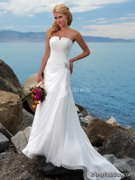 Wedding dress for beach wedding 2017-2018 | B2B Fashion
