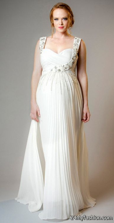 Wedding Dress For Pregnant Woman 40
