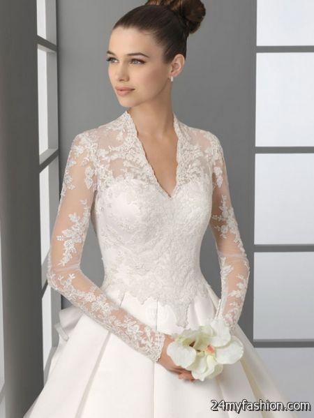 Wedding dresses with long sleeves 2017-2018 | B2B Fashion