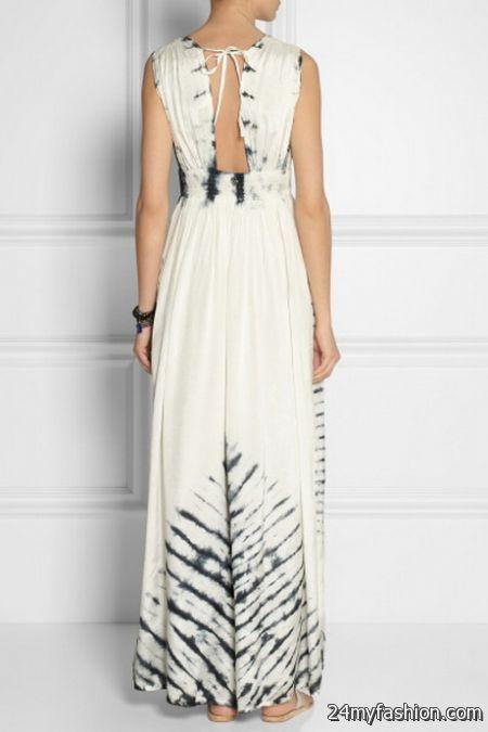 Collection White Cotton Maxi Dress Pictures - Reikian