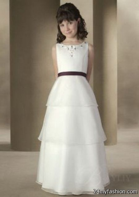White dresses for girls 2017-2018 » B2B Fashion