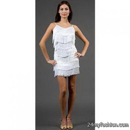 White Fringe Dress - Artee Shirt